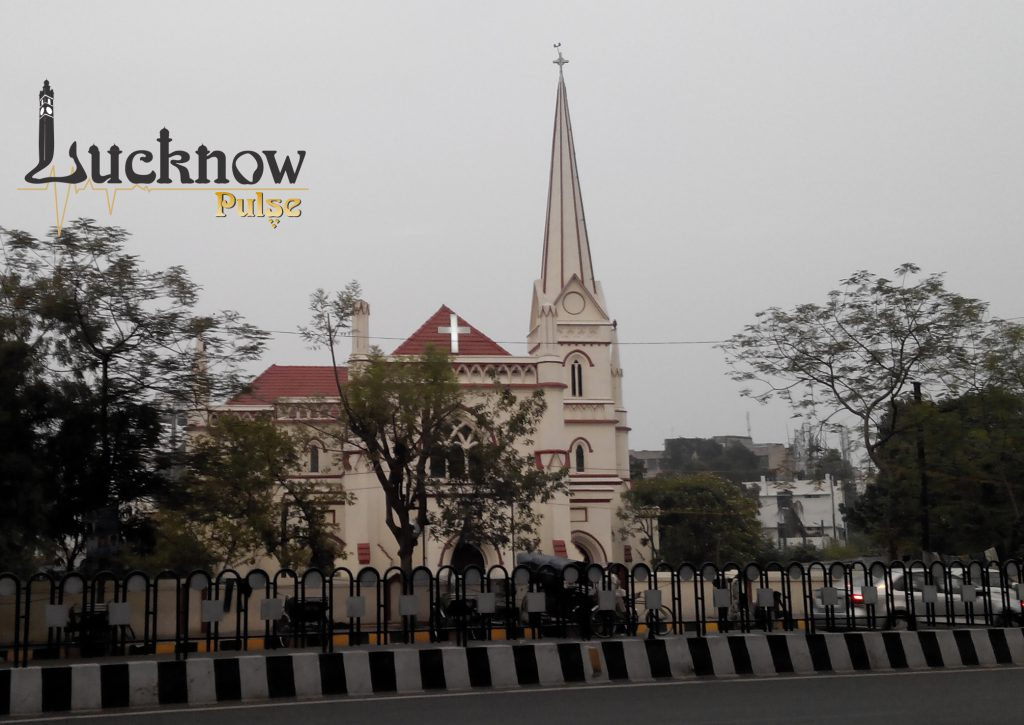 Picture of Christ Church at hazratganj in lucknow