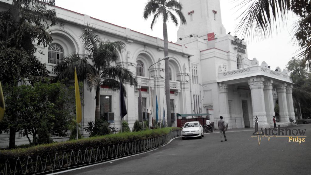 Picture of the General Post Office at Lucknow