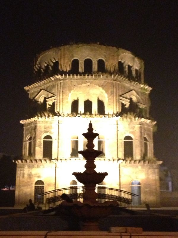 Satkhanda-An unfinished heritage at Husainabad Lucknow