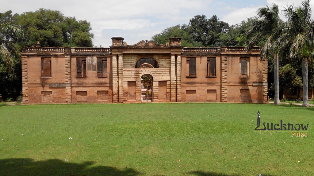 Picture of Dilkusha kothi at lucknow