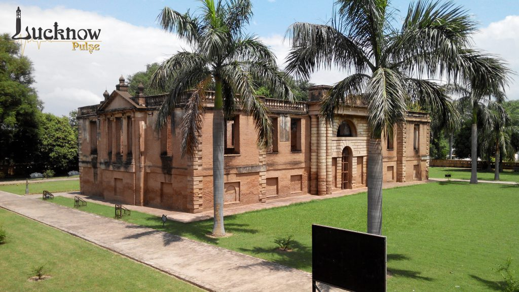 Another view of Dilkusha kothi lucknow