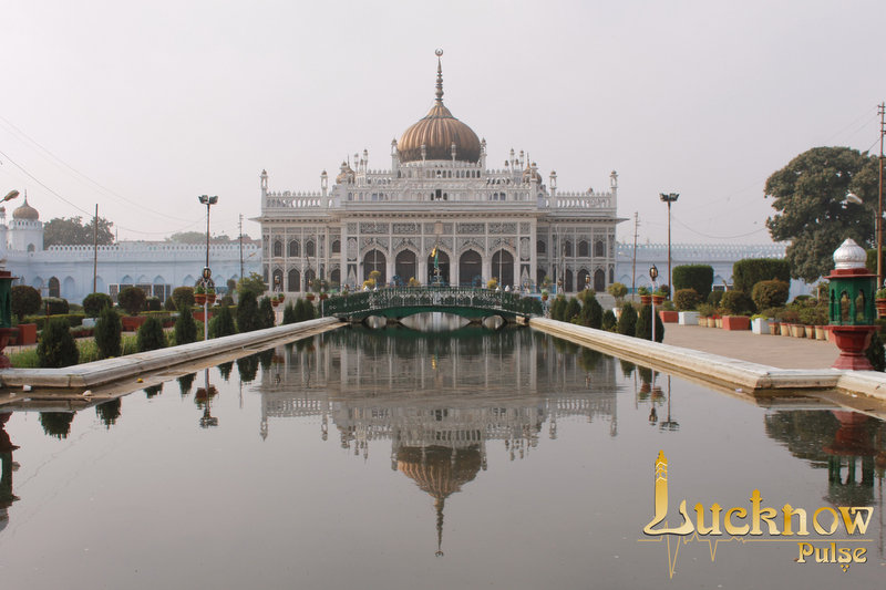 Picture of Hussainabad Imambara at Lucknow