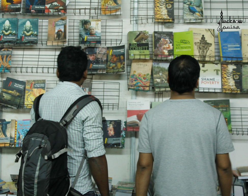 Picture taken at the National book fair, Lucknow 2015