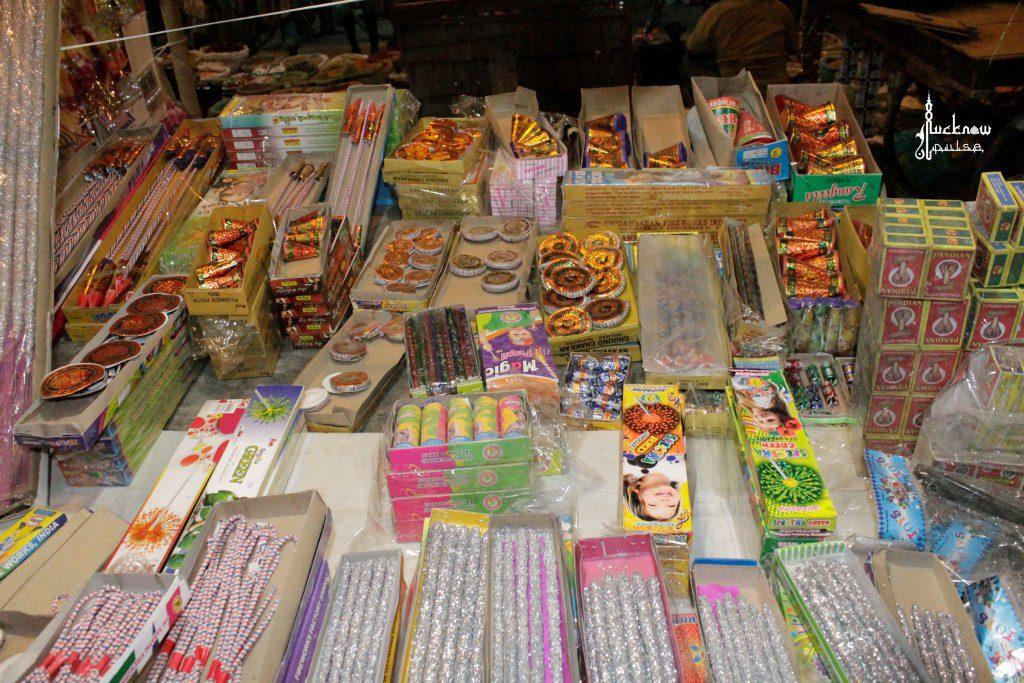 Diwali crackers shop