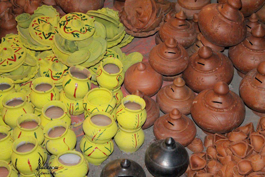 Diwali diya shopping