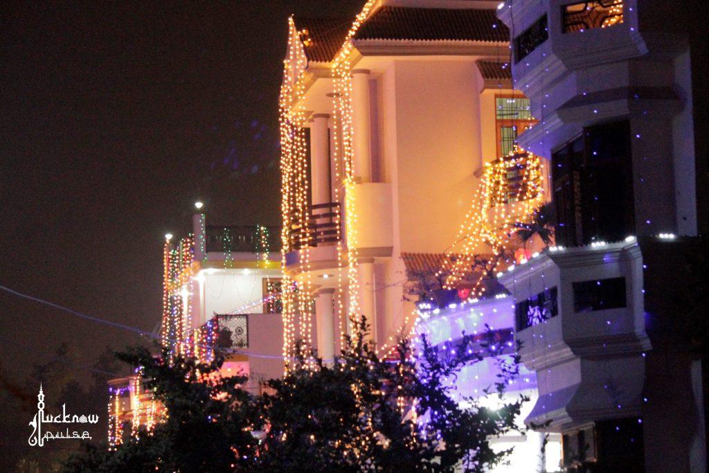 Diwali decorations lucknow