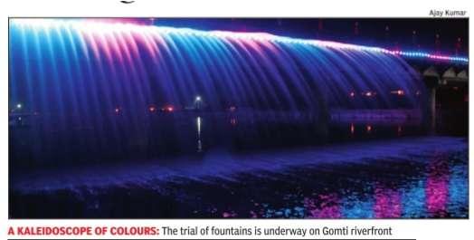 Gomti Riverfront Bellagio Pic Courtesy - TOI