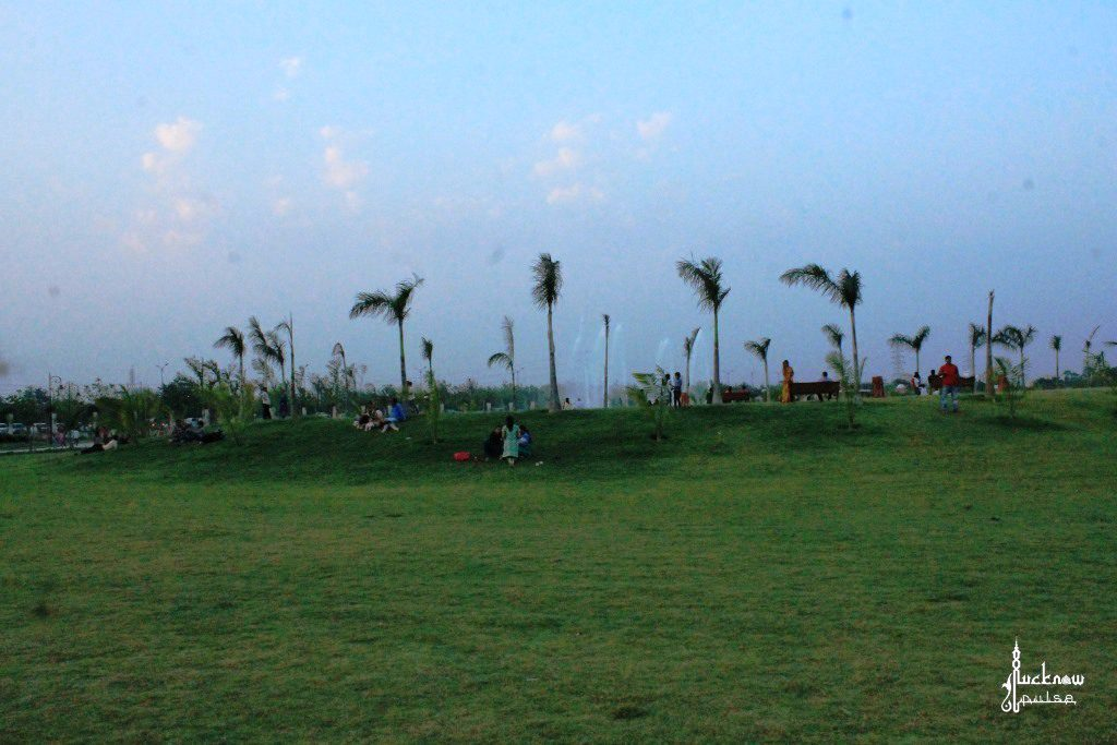 Picture of Janeshwar mishra park, 400-acre park with lot of greenery and an artifical lake in Lucknow